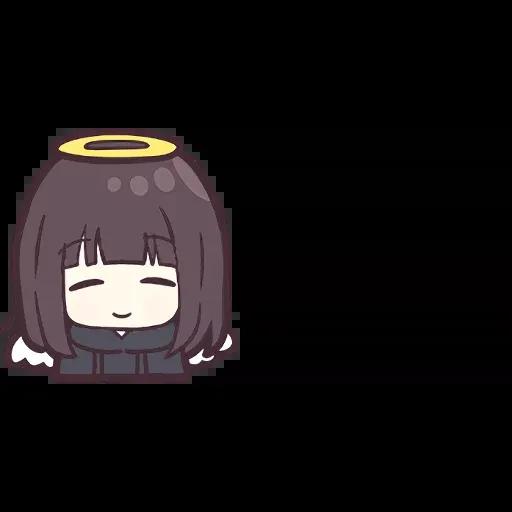 Menhera chan Emoji - Sticker 24