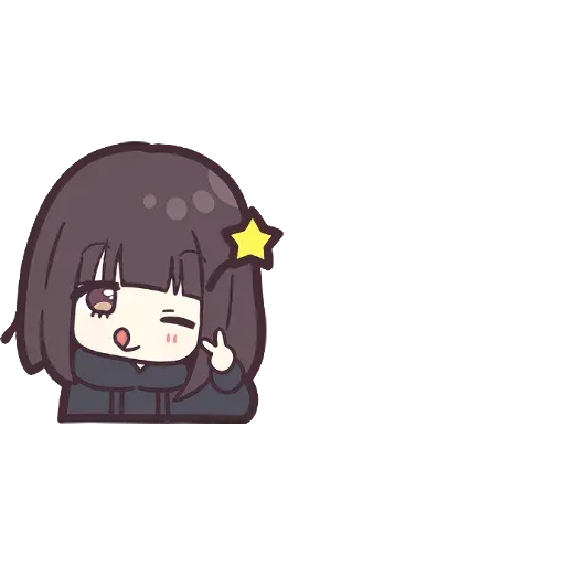 Menhera chan Emoji - Sticker 2