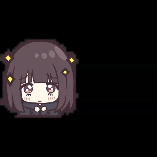 Menhera chan Emoji - Sticker 19