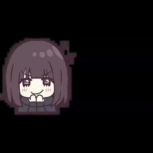 Menhera chan Emoji - Sticker 21