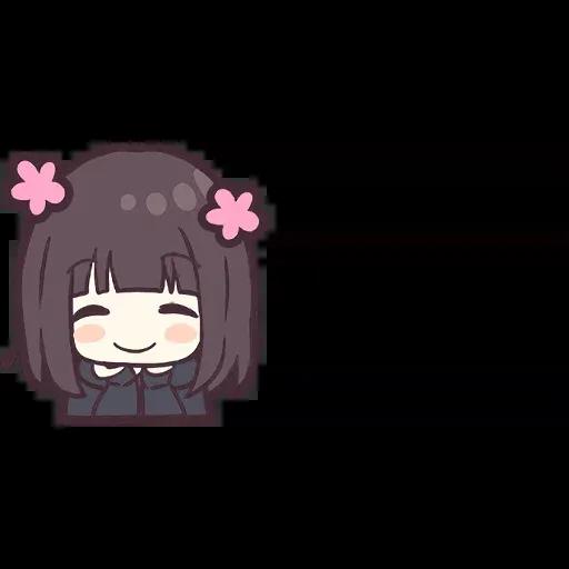 Menhera chan Emoji - Sticker 10