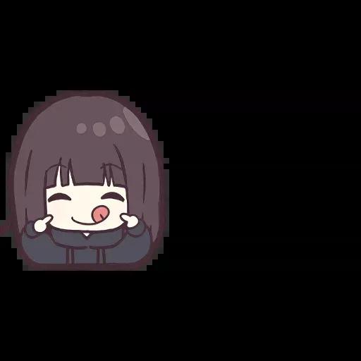 Menhera chan Emoji - Sticker 9
