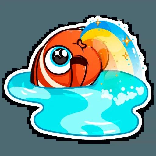 Golden Fish - Sticker 9