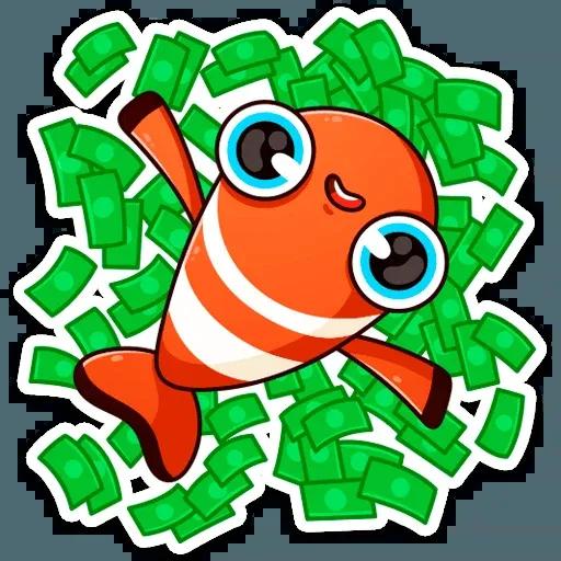 Golden Fish - Sticker 17