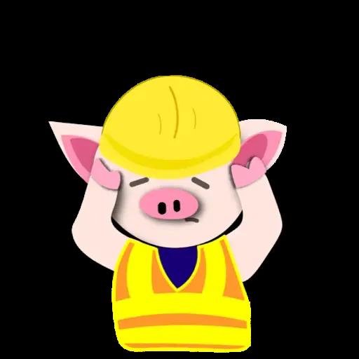 Piggie 豬 - Sticker 2
