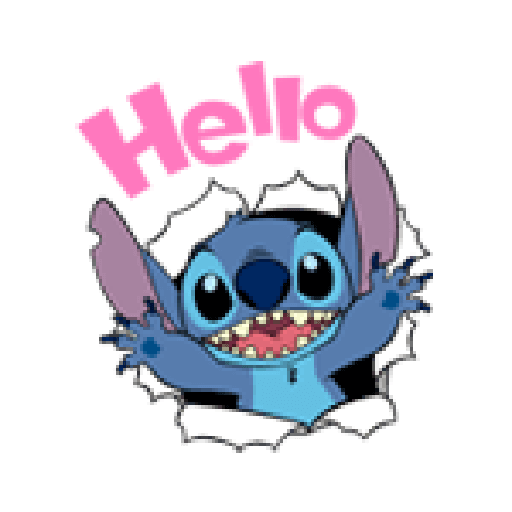 Stitch2 - Sticker 1