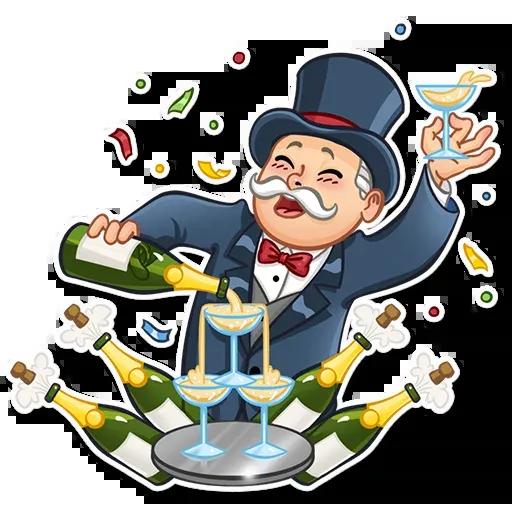 Don Monopolio 2 - Sticker 8