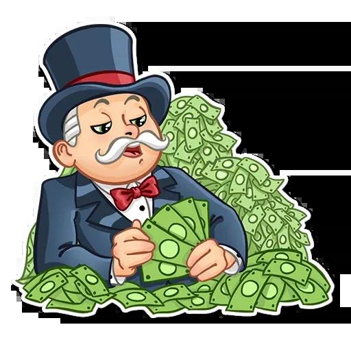 Don Monopolio 2 - Sticker 6