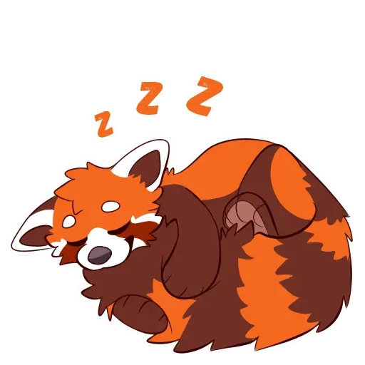 Red Panda - Sticker 10