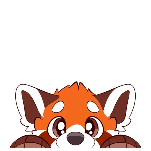 Red Panda - Sticker 11
