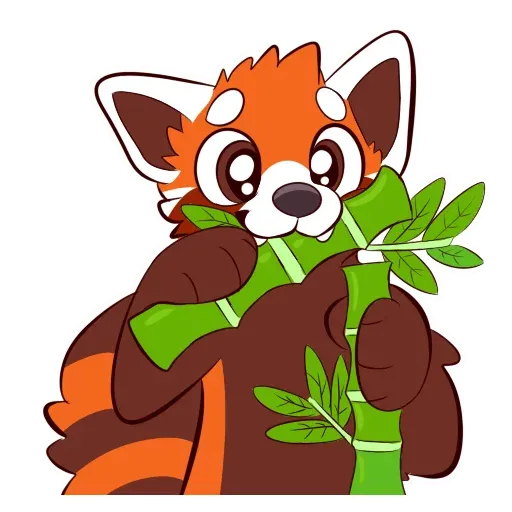 Red Panda - Sticker 1
