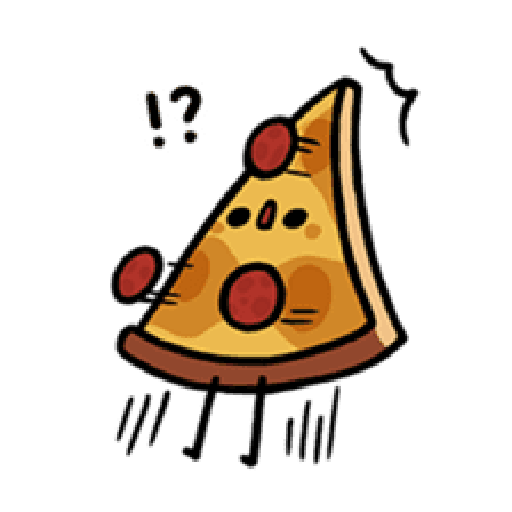Moe Pizza and Friend Basil - Sticker 1