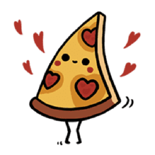 Moe Pizza and Friend Basil - Sticker 11