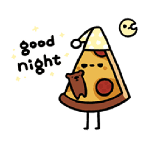 Moe Pizza and Friend Basil - Sticker 19