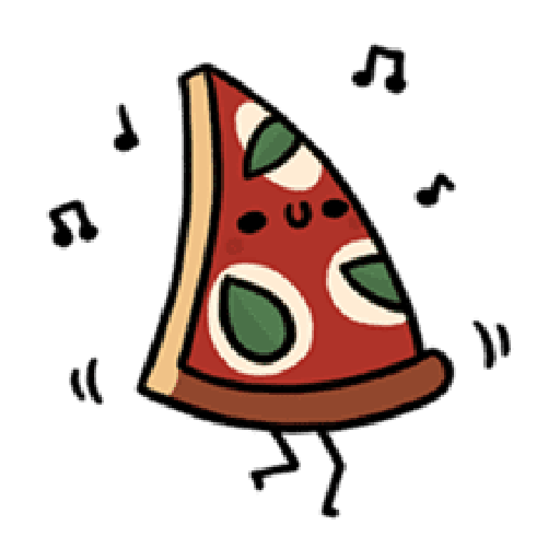 Moe Pizza and Friend Basil - Sticker 2