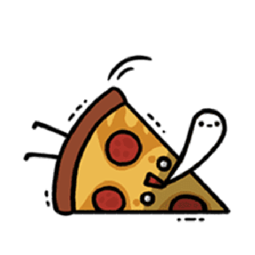 Moe Pizza and Friend Basil - Sticker 13
