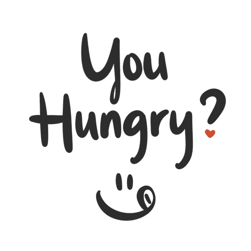You Hungry? 01 - Sticker 1