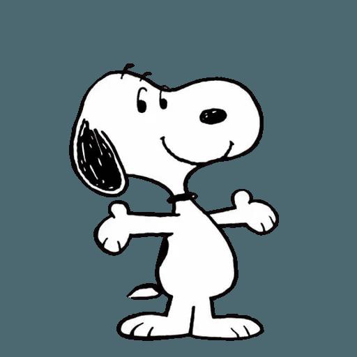 Snoopy - Sticker 24