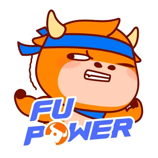 FuPower - Tray Sticker