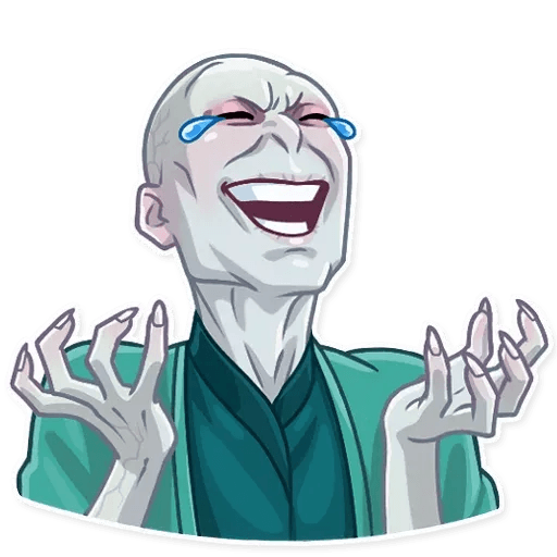 Lord Voldemort - Sticker 2