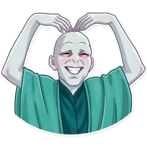 Lord Voldemort - Sticker 7
