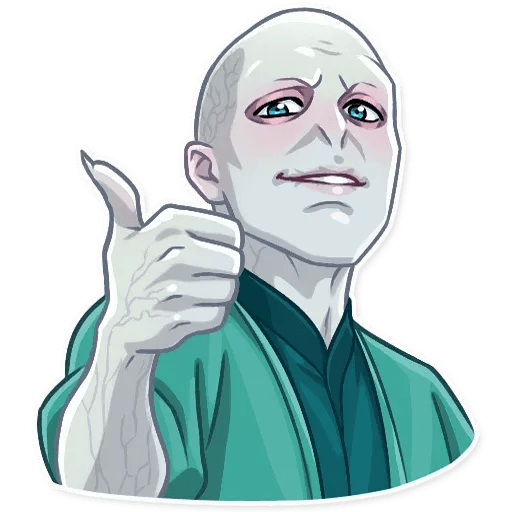 Lord Voldemort - Sticker 4