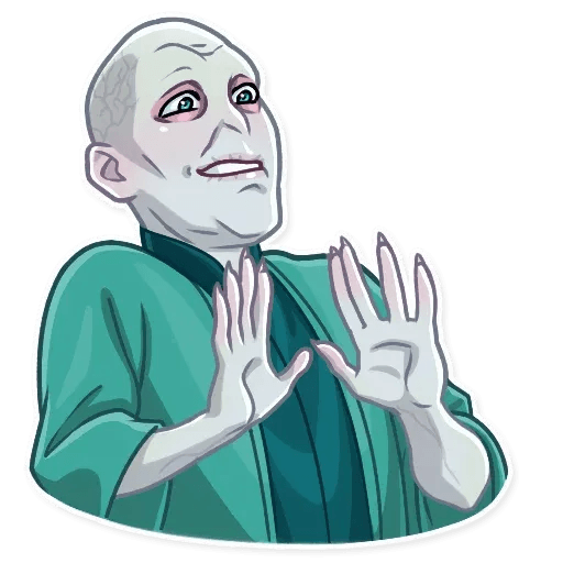 Lord Voldemort - Sticker 23
