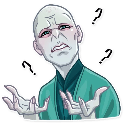 Lord Voldemort - Sticker 26