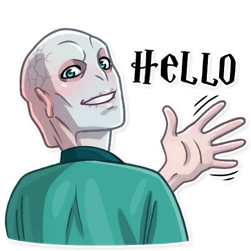 Lord Voldemort - Sticker 5