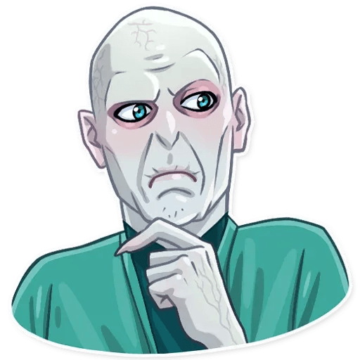 Lord Voldemort - Sticker 13