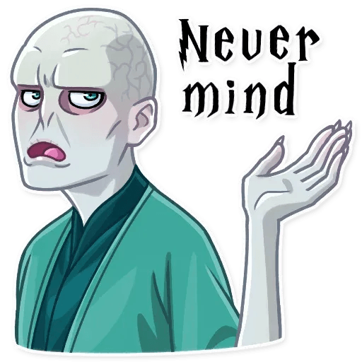 Lord Voldemort - Sticker 27