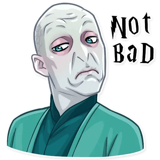 Lord Voldemort - Sticker 14