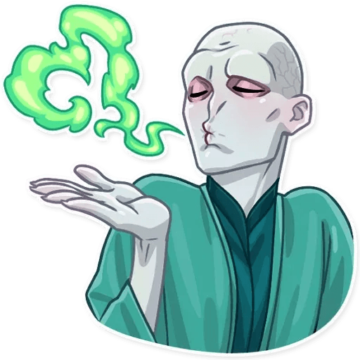 Lord Voldemort - Sticker 3
