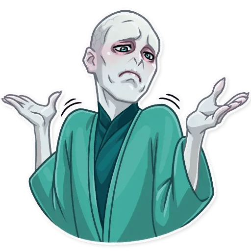 Lord Voldemort - Sticker 20