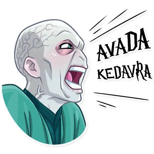 Lord Voldemort - Sticker 9