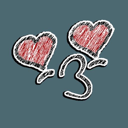 Stick Faces - Sticker 10