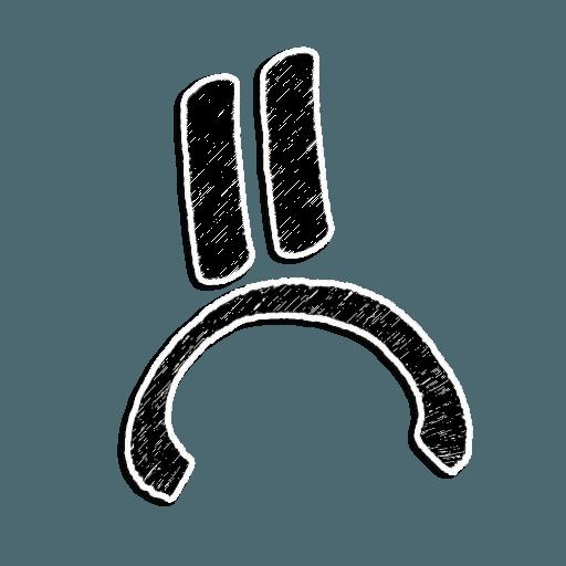 Stick Faces - Sticker 13