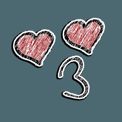 Stick Faces - Sticker 12