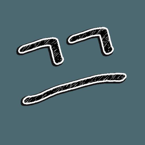 Stick Faces - Sticker 16