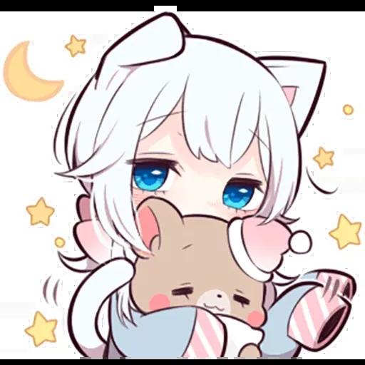 White kitten - Sticker 7