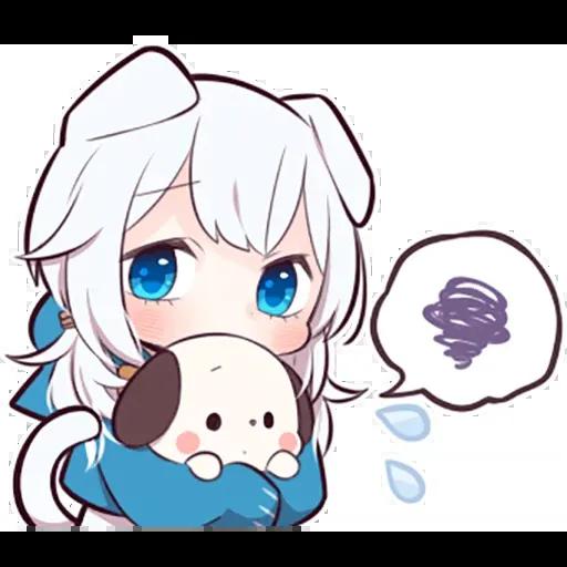 White kitten - Sticker 11