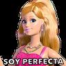 Barbie  - Tray Sticker
