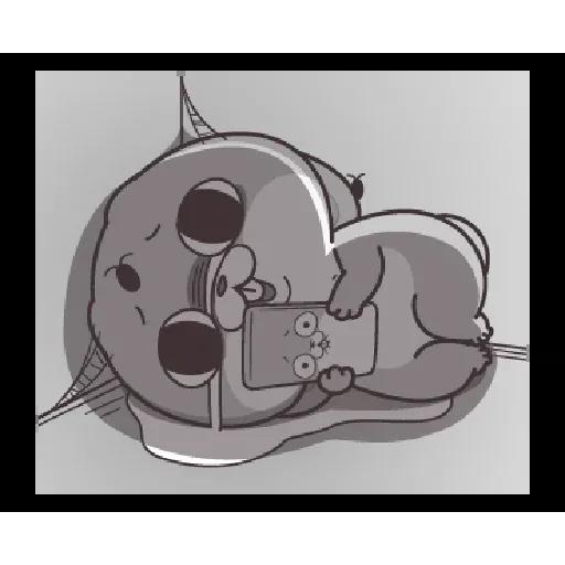 好想兔 - Meong - Sticker 23