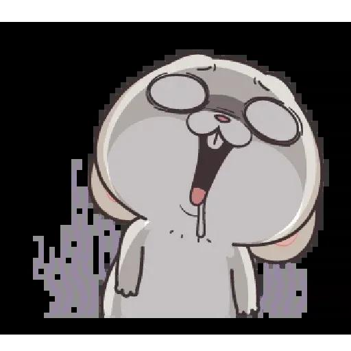 好想兔 - Meong - Sticker 11
