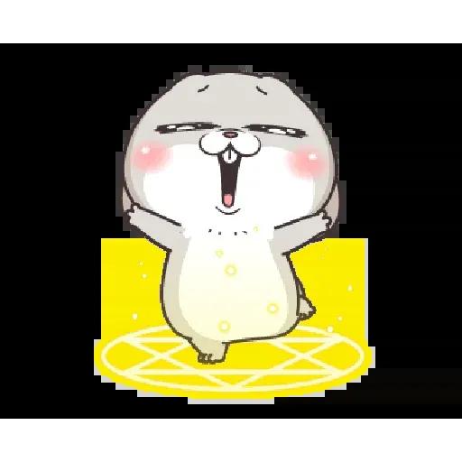好想兔 - Meong - Sticker 10