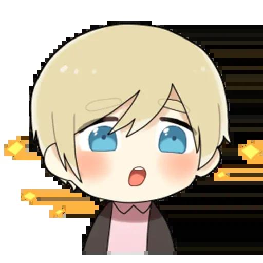 Obediente Blond boy - Sticker 19