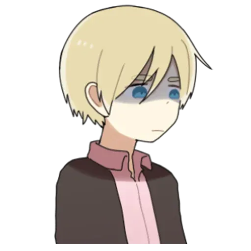 Obediente Blond boy - Sticker 4