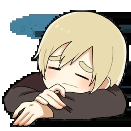 Obediente Blond boy - Sticker 29