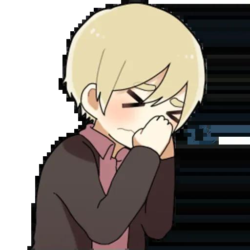 Obediente Blond boy - Sticker 22