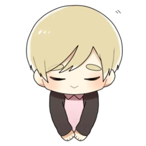 Obediente Blond boy - Sticker 1